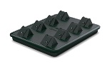8 Bay Charger Base with 8 HD/FLX Battery Charger Inserts  ** Call For Current Pricing **