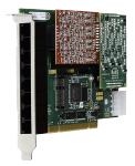 8 port modular analog PCI 3.3/5.0V card,