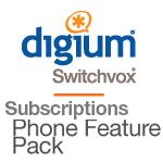 1 Switchvox Phone Feature Pack  snom Phone - RFA