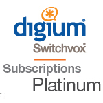 2 Year Switchvox Platinum Support and Maintenance Subscription Renewal for 1 User - RFA