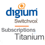 1 Switchvox User with 1 Year Titanium Support and Maintenance Subscription - RFA