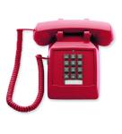 (SCITEC) 2510E Emergency Desk Phone Red
