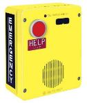 Emergency Telephone Single-Button Auto-Dial Surface-Mount with Voice Annunciation and Extreme Cold Weather Options (to -40 C) 120V ac Required