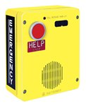 RED ALERT VoIP Surface-Mount Emergency Telephone in. HELPin. Button Non-Metallic Enclosure