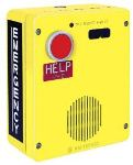 Emergency Telephone Single-Button Auto-Dial Surface-Mount Rugged Cast-Aluminum Enclosure with Extreme Cold Weather Option (to -40 C) 120V ac required