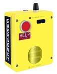 RED ALERT WiFi VoIP Surface-Mount Emergency Telephone in. HELPin. Button Aluminum Enclosure