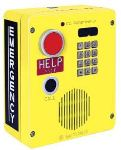 Emergency Telephone Single-Button Auto-Dial with CALL Pushbutton and Keypad Surface-Mount Rugged Cast-Aluminum Enclosure with Extreme Cold Weather Option (to -40 C) 120V ac Required