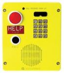 RED ALERT VoIP Surface-Mount Emergency Telephone Full Keypad in. HELPin. Button CALL Button Aluminum Enclosure
