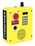 RED ALERT WiFi VoIP Surface-Mount Emergency Telephone Full Keypad in. HELPin. Button CALL Button Aluminum Enclosure