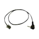 SPARE  CABLE 2.5MM GOLD PLUG AND MODULAR  500MM