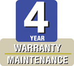 4-Yr Extended Hardware Warranty & Software Upgrade for 6X/6X12 (First 90 Days Purchase) - RFA