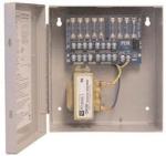 CCTV Power Supply  8 Fused Outputs  24/28VAC @ 4A  115VAC  BC100 Enclosure