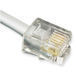 Line Cord  6P4C  7 Ft