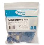 CAT 5e  EZ  25 PK  Blue
