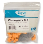 CAT 5e  EZ  25 PK  Orange