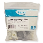 CAT 5e  EZ  25 PK  White