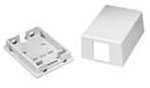 Surface Mount Box 1-Port White