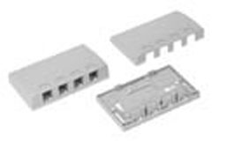 Surface Mount Box Elite 4-Port White