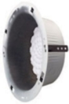 ROUND RECESSED ENCLOSURE 4 1/4