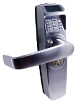 PIN Code Lock  USB Grade-2 Tubular Latch 2-3/4in. Backset (Special Pricing while Supplies Last)