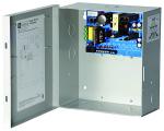 CCTV Power Supply  4 PTC Class 2 Outputs  12VDC @ 5A  115VAC  BC300 Enclosure