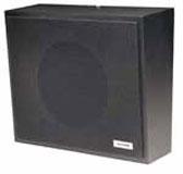 Wall Speaker - Black Vinyl w/Blk Grille