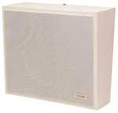 Wall Speaker- White Vinyl w/ Wht Grille