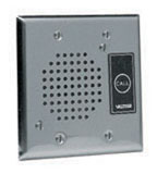 Doorplate Speaker Flush Stainless Steel